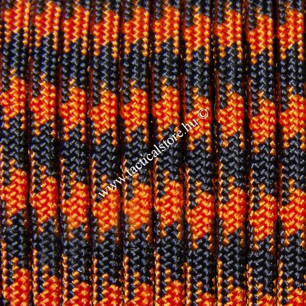 350 Cord - Camo Black Orange