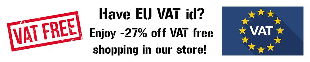 EU VAT free shopping