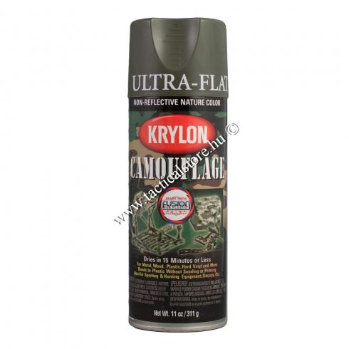 Krylon álcafesték olív zöld