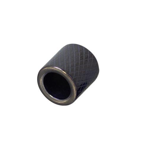 CordCraft Rovátkolt gyöngy (fekete)