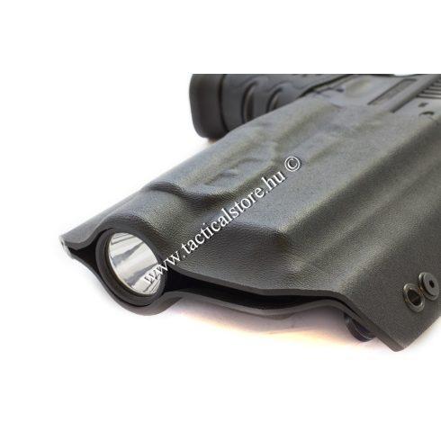 dark tactical kydex fegyvertok lámpás