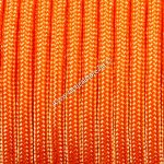 350 paracord zsinór világos fluor narancs