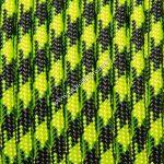350 paracord zsinór fluor zöld camo mintás
