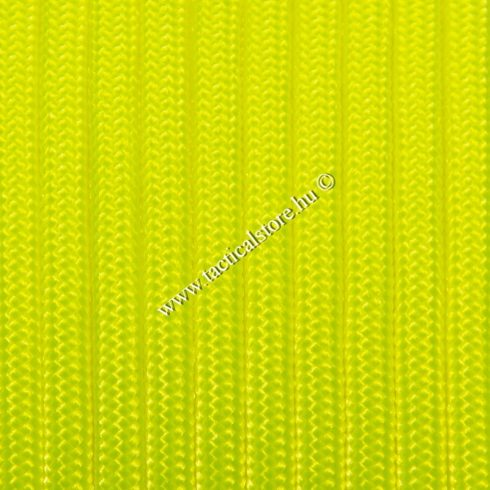 350 paracord zsinór fluor sárga