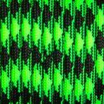 550 paracord zsinór fluor zöld camo mintás