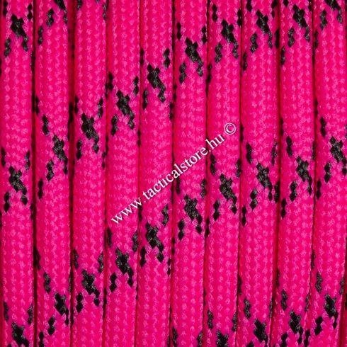 550 paracord zsinór rózsaszín camo mintás