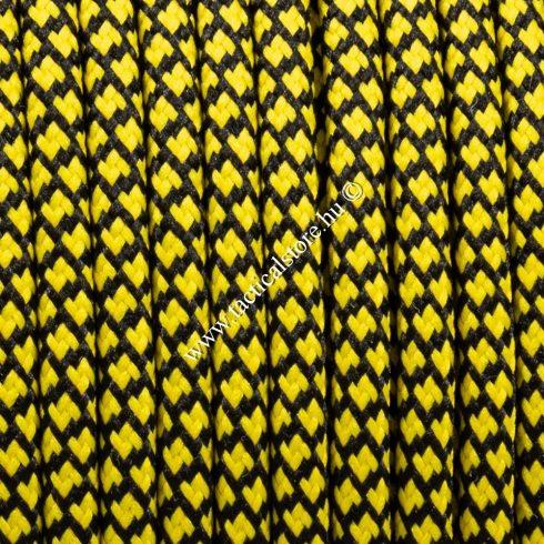 550 paracord zsinór sárga fekete gyémánt camo mintás