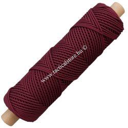 Microcord micro paracord zsinór burgundi vörös