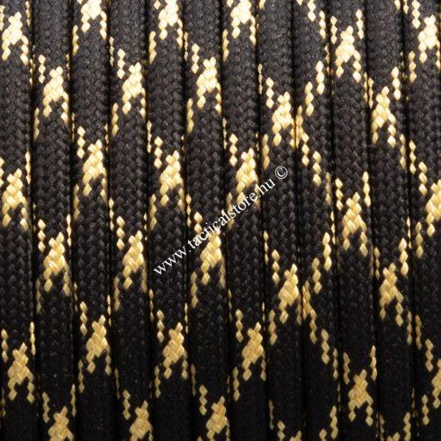 550 paracord zsinór fekete arany camo