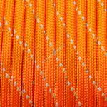 Fényvisszaverős 550 paracord zsinór narancs
