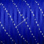 Fényvisszaverős 550 paracord zsinór kék