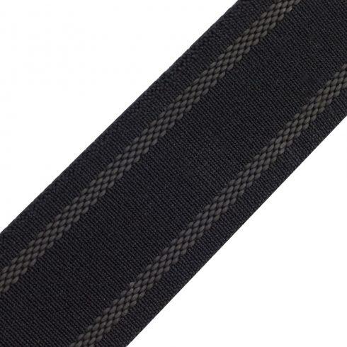 DarkTac Elastic Webbing 40mm Black, anti slip