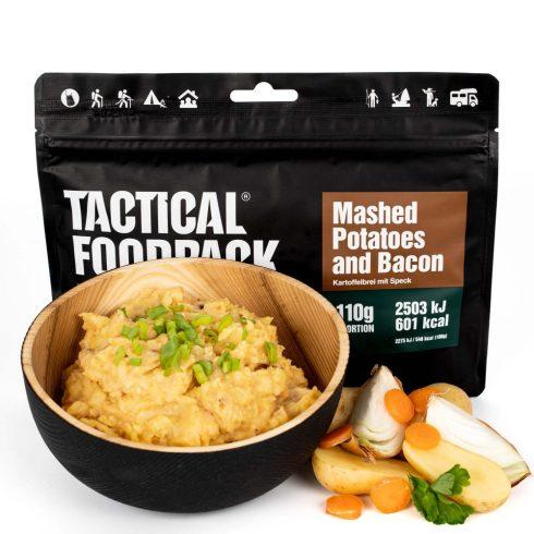 Tactical foodpack katonai túra MRE étel bacon krumplipüré