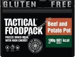 Tactical foodpack katonai túra MRE étel főtt burgonya marhahússal