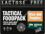 Tactical foodpack katonai túra MRE étel zöldséges rizseshús