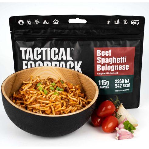 Tactical foodpack katonai túra MRE étel bolognai spagetti